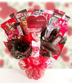Valentine Classic Candy Bouquet imagerjs
