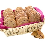 Wicker Gourmet Cookie Party Tray