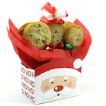 Santa HoHoHo Cookie Bouquet Tote Box