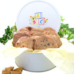 ABC Tin Baby Cookie Gift