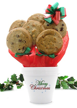 Merry Christmas Cookie Pot imagerjs