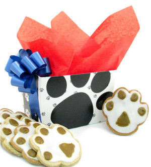 Paw Print Gift Box of Treats imagerjs