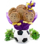 Soccer Planter Cookie Arrangement