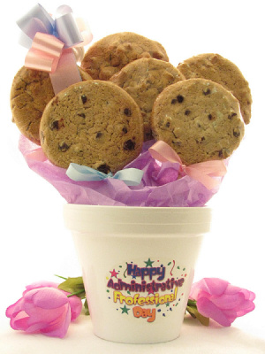 Administrative Professional Day Cookie Pot imagerjs