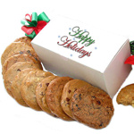 Happy Holidays Gourmet Cookie Box