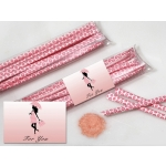 Baby Shower Edible Pink Candy Powder Favors