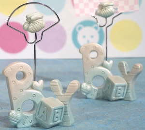 Blue 'Baby' Placecard Holder imagerjs
