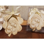 Hanging Flower Design Madonna Ornament Favors