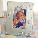 Silver Frame w/ Teddy Bear Design