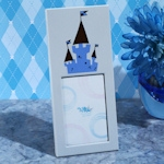 Enchanted Blue Castle Photo Frame