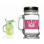 Little Princess Design Mason Jar Favors