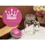 Little Princess Vintage Mini Mason Jar Favor