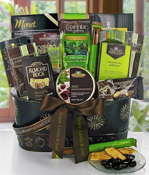 Taste of the Tropics Gourmet Gift Basket imagerjs