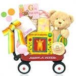 Welcome Wagon For Babies (Pink and Blue)