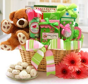 Beary Cheerful Gourmet Gift Basket imagerjs