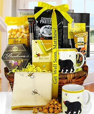 Bee Well Gourmet Gift Basket image