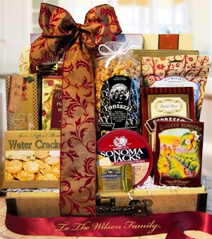 Gourmet Greetings Deluxe Gift Trunk imagerjs
