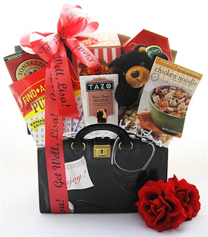 Gourmet House Call Gift Basket image