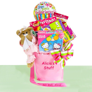 Girly Girl Get Well Gift Set imagerjs