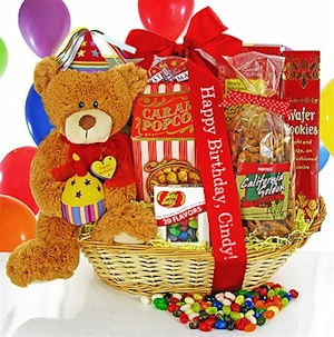 Happy Birthday Surprise Gift Basket image