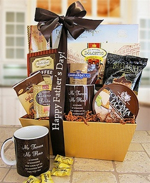My Father My Hero Gift Basket imagerjs