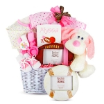 All Star Baby Gift Basket for Girls