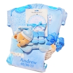 Nap Time Bear Personalized Gift Basket