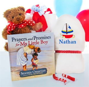 Prayers For My Little Boy Gift Set image
