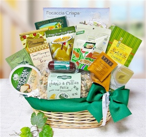 Thanks A Million Gourmet Gift Basket imagerjs