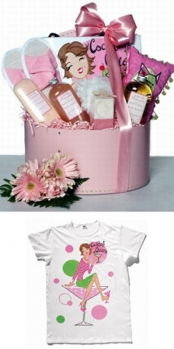 The Cocktail Queen Spa Basket image