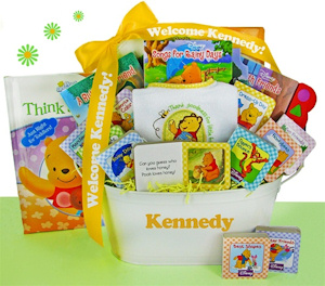 Winnie the Pooh First Library Basket imagerjs