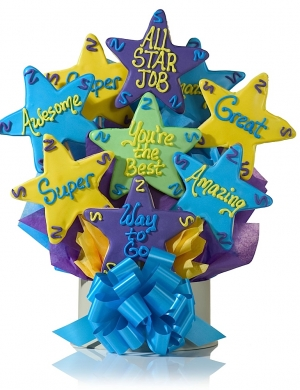 All Star Job Cookie Gift Bouquet Delete imagerjs