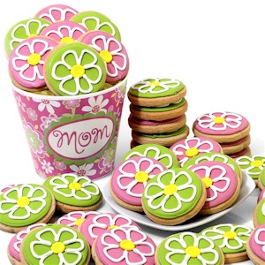 Mother's Day Flower Cookie Pot Delete imagerjs