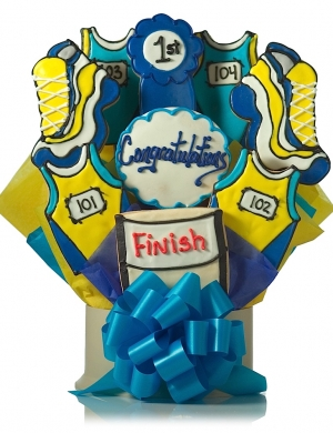 Congratulations Running Bouquet of Cookies Delete image