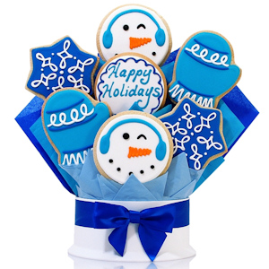 Holiday Winter Wishes Cookie Bouquet Delete imagerjs