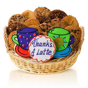 Thanks A Latte Cookie Gift Basket Delete imagerjs