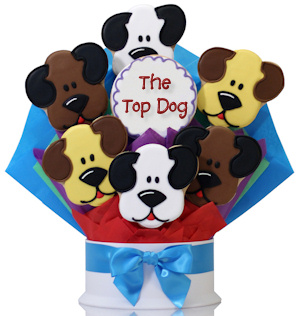 The Top Dog Cookie Gift Bouquet Delete imagerjs