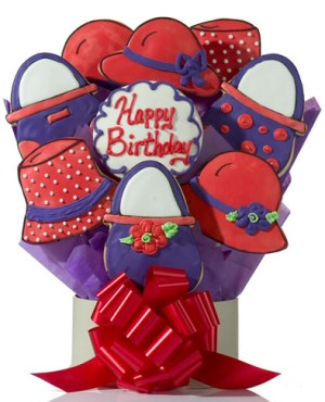 Red Hat Decorated Cookie Gift Delete image