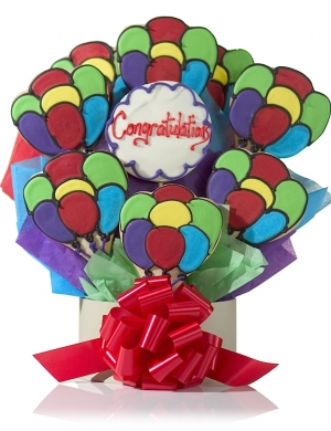 Colorful Congratulations Balloon Cookies Delete imagerjs