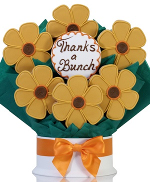 Sunny Wishes Cookie Flower Bouquet Delete imagerjs