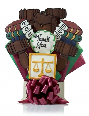 Lawyer Cookie Gift Bouquet Delete imagerjs
