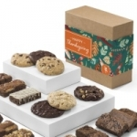 Thanksgiving Cookie & Brownie Gift Box