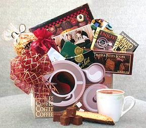 Coffee Lovers Delight Gift Basket imagerjs