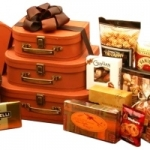 Gourmet Suitcase Tower