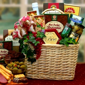 A Picnic Fare for Two Gift Basket imagerjs