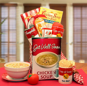 Get Well Soon Chicken Noodle Soup Gift Tote imagerjs