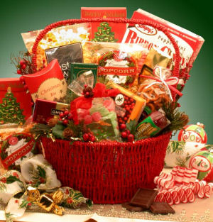 Grand Gourmet Holiday Gift Basket imagerjs