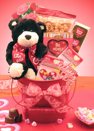 Be My Valentine Gift Pail imagerjs