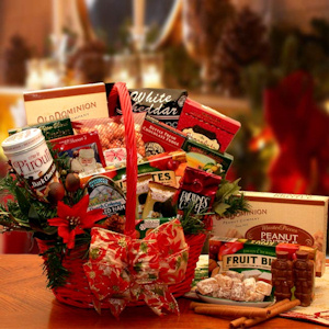 Tidings of Joy Holiday Gift Basket imagerjs