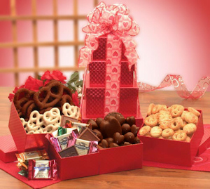 Valentine's Day Treats Gift Tower imagerjs